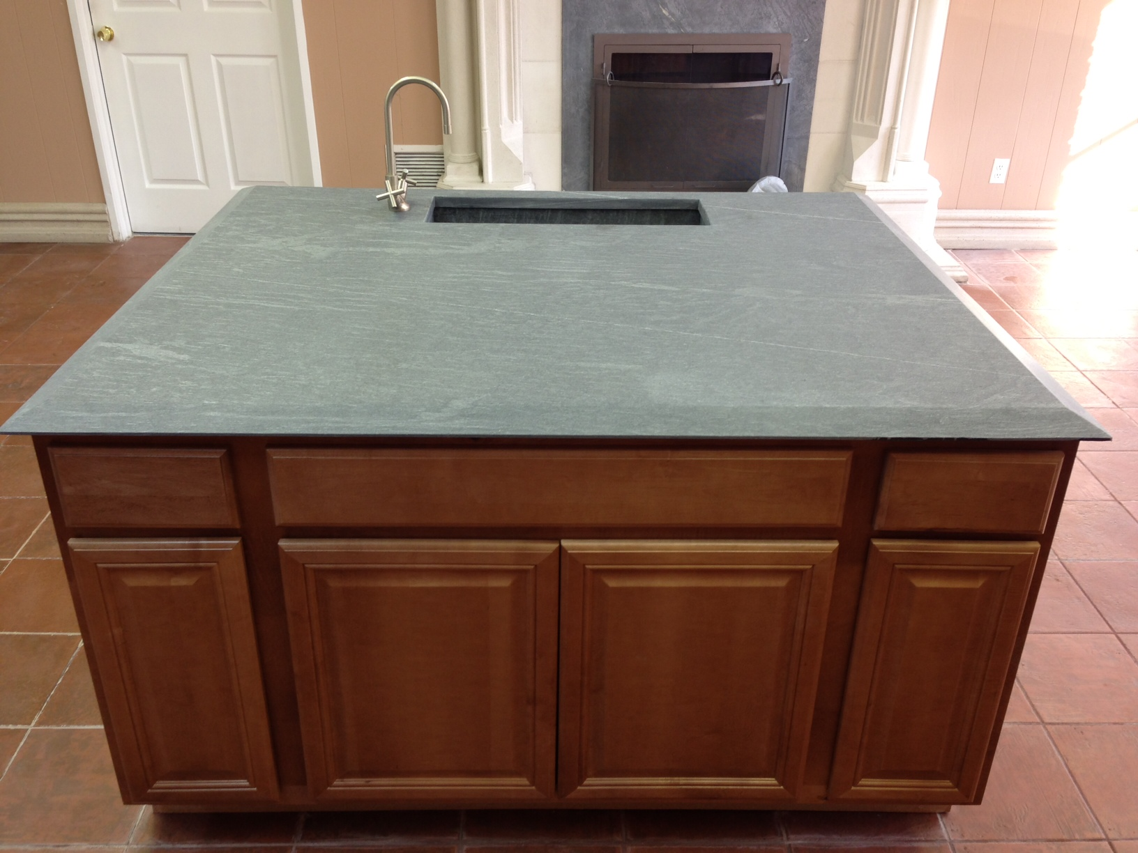 Slate Kitchen Countertop Pictures